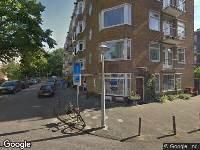 112 melding Ambulance naar Lanseloetstraat in Amsterdam