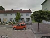 112 melding Brandweer naar Anna van Burenhof in Leiden vanwege afhijsen patient