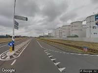 Brandweer naar Botlekweg in Botlek Rotterdam