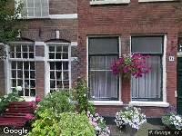 Brandweer naar Kerkstraat in Haarlem