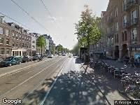 Ambulance naar Overtoom in Amsterdam