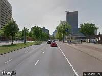 112 melding Besteld ambulance vervoer naar Pompenburg in Rotterdam