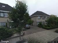 112 melding Ambulance naar Janssoniushof in Waalwijk