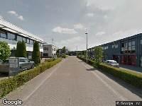 112 melding Brandweer naar Watermanstraat in Apeldoorn