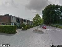 Politie naar Traviataweg in Hoogvliet Rotterdam vanwege ongeval met letsel