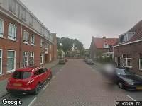Ambulance naar De Lange van Wijngaardenstraat in Gouda