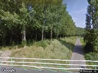 112 melding Brandweer naar Herbert H. Dowweg in Hoek vanwege verkeersongeval