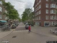 Brandweer naar Gaaspstraat in Amsterdam