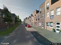 Brandweer naar Nederlandstraat in Almere