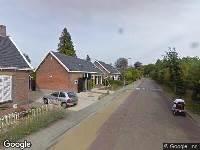 Politie naar Korteweg in Driewegen vanwege letsel