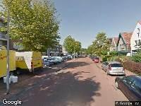Ambulance naar Wijkerstraatweg in Velsen-Noord