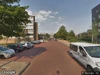112 melding Brandweer naar Surinamestraat in Leiden vanwege afhijsen patient