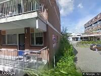 112 melding Ambulance naar Nedersassen in Alblasserdam