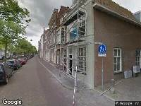 112 melding Ambulance naar Voorstraat in Delft
