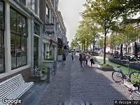 112 melding Ambulance naar Oude Delft in Delft