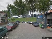 112 melding Politie naar Wattstraat in Dordrecht vanwege ongeval met letsel