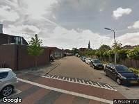 112 melding Ambulance naar Wilgenplein in Alblasserdam