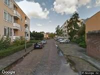 Brandweer naar Dotterbloemstraat in Vlaardingen