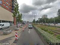 Brandweer naar Meer en Vaart in Amsterdam vanwege een buitenbrand