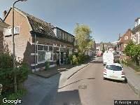 112 melding Brandweer naar Leenaert Nicasiusstraat in Amersfoort