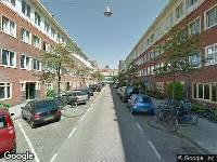 112 melding Ambulance naar James Cookstraat in Amsterdam