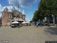 Politie naar Nieuwmarkt in Amsterdam vanwege vechtpartij