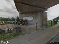 112 melding Brandweer naar Dokweg in Dordrecht vanwege brand