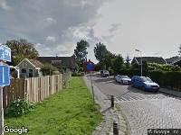 Ambulance en brandweer naar Westknollendam in Westknollendam vanwege brand