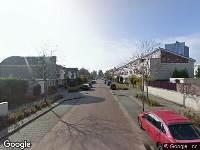 112 melding Brandweer naar Viscontistraat in Almere