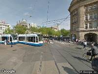 112 melding Politie naar Leidseplein in Amsterdam vanwege ongeval met letsel
