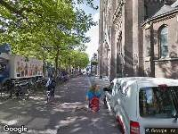 112 melding Ambulance naar Burgwal in Delft