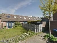 112 melding Brandweer en politie naar Schepen Mijnschartstraat in Arnhem