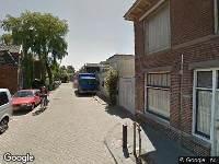 Ambulance naar Valkstraat in Zaandam