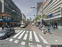 Brandweer naar Westblaak in Rotterdam vanwege brand