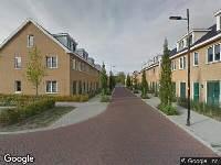 112 melding Brandweer naar Uranushof in Huis ter Heide vanwege afgaan automatisch brandalarm