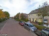 112 melding Brandweer naar Kapitein de Langestraat in Almere