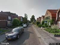 Brandweer naar Lindenlaan in Heerenveen vanwege verkeersongeval
