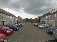 112 melding Brandweer naar Klarinetsingel in Zwijndrecht vanwege waarnemen gaslucht