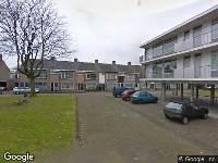 112 melding Brandweer naar Redemptoristenstraat in Tilburg vanwege een liftopsluiting
