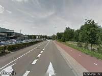 112 melding Brandweer naar Albert Schweitzerlaan in Apeldoorn