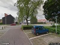 Brandweer naar Pieter Steynstraat in Zwolle vanwege waarnemen gaslucht