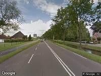 Traumahelikopter naar Provincialeweg in Hoorn
