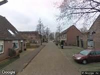112 melding Brandweer naar Siebe Schootstrastraat in Leeuwarden