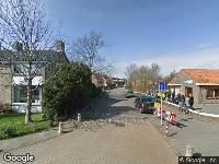 112 melding Brandweer naar Schoolstraat in Koedijk vanwege verkeersongeval