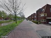 Brandweer naar Boswalstraat in Zwolle vanwege wateroverlast