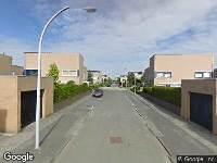 Brandweer naar Poortwachterstraat in Zwolle