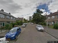 112 melding Ambulance naar Van Alphenstraat in Ridderkerk