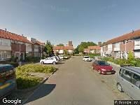 112 melding Brandweer naar Gilbert van Zinnikstraat in Breda