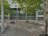 112 melding Ambulance naar Mr. Treublaan in Amsterdam