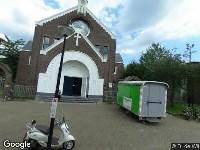112 melding Ambulance naar Ambonplein in Amsterdam